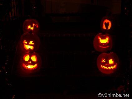 Halloween Pumpkins 2010 002