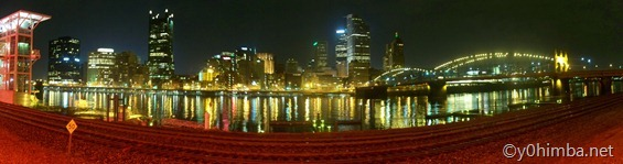 Pittsburgh, PA Night Skyline