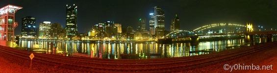 Pittsburgh, PA Night Skyline